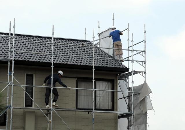 雨樋/屋根修理工事をご依頼